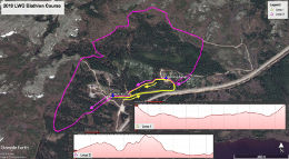 Snowshow Duathlon Map